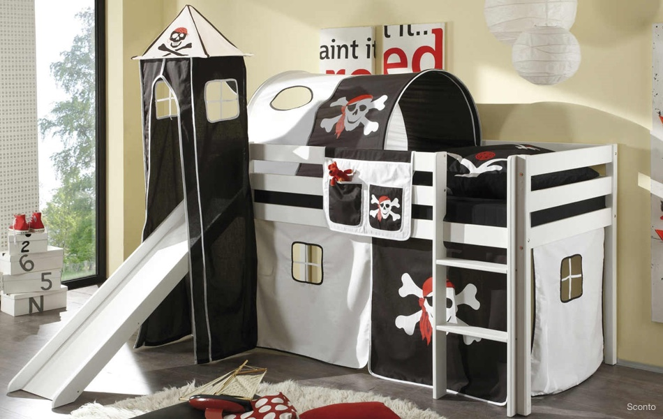 Tunel k posteli ARNIKA PIRAT