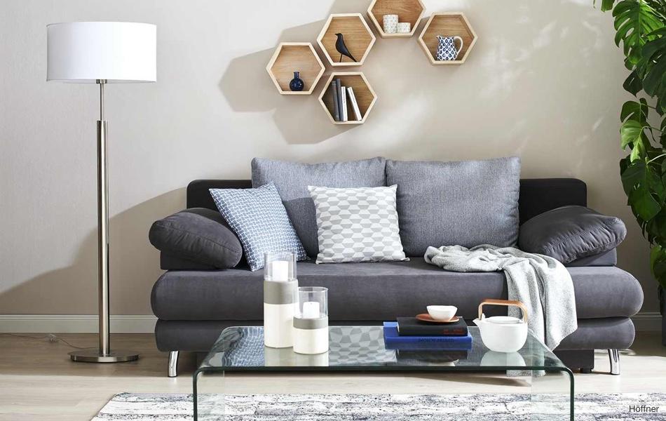 Oživte pokoj geometrickými tvary