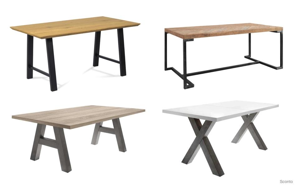 Jídelní stůl jako dominanta jídelny