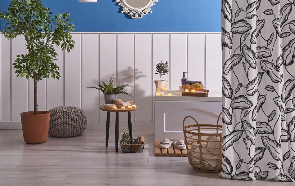 Záclony azávěsy v interiéru