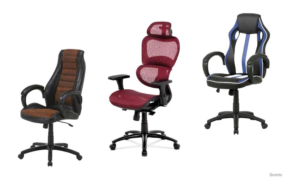 Kancelářské židle, křesla