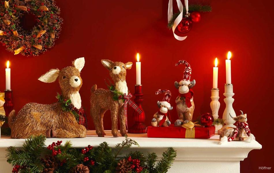 Jak zkrášlit byt na Vánoce
