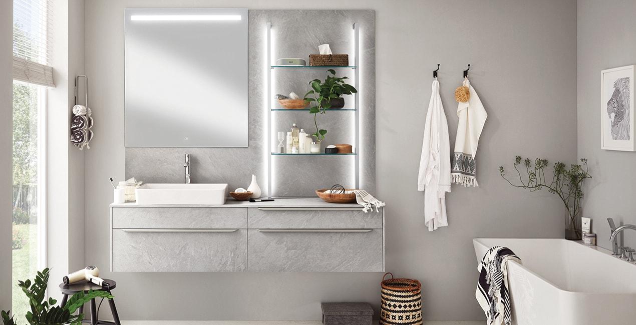 Kúpeľňa Stoneart z programu Viac než kuchyňa