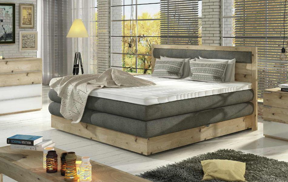 Boxspringová postel Diori