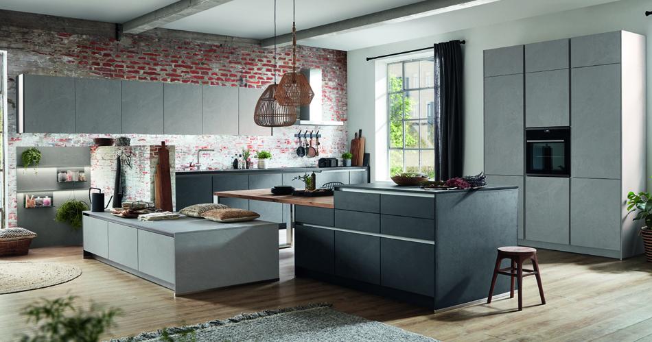 Kuchyně Stoneart s pracovní deskou Xtra