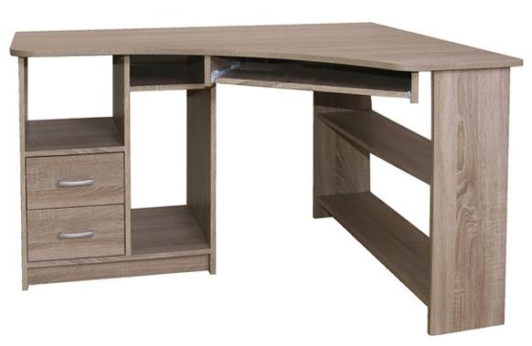 Rohový písací stôl Jana
