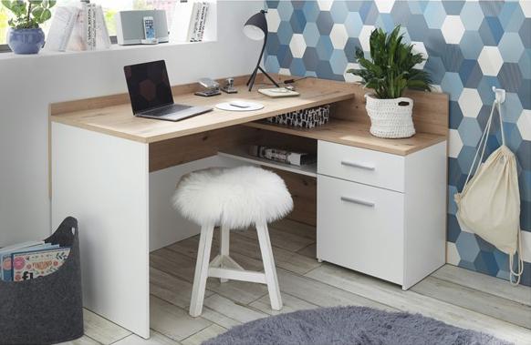 Rohový písací stôl Chille