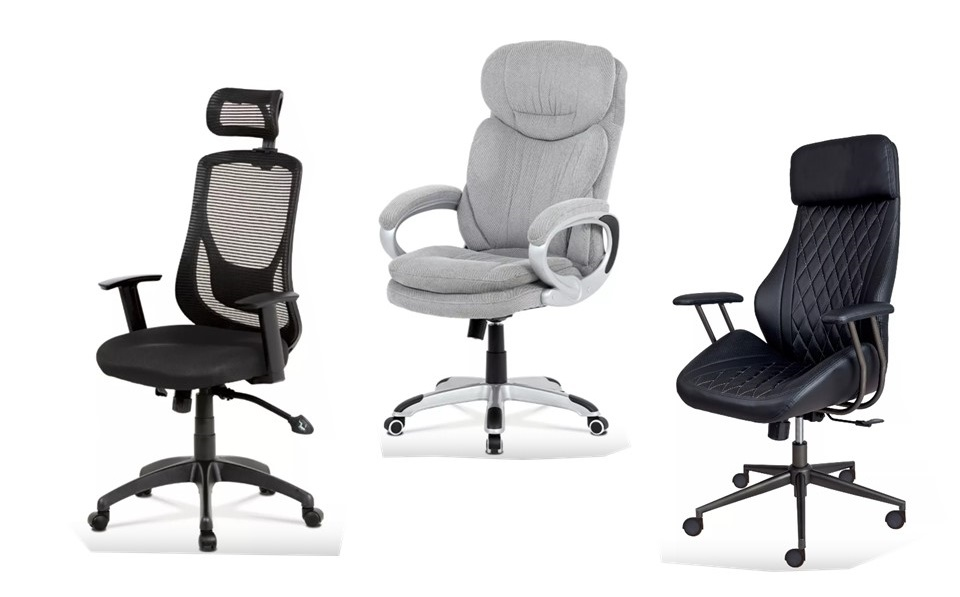 Kancelárske stoličky George, Esteban a Expert