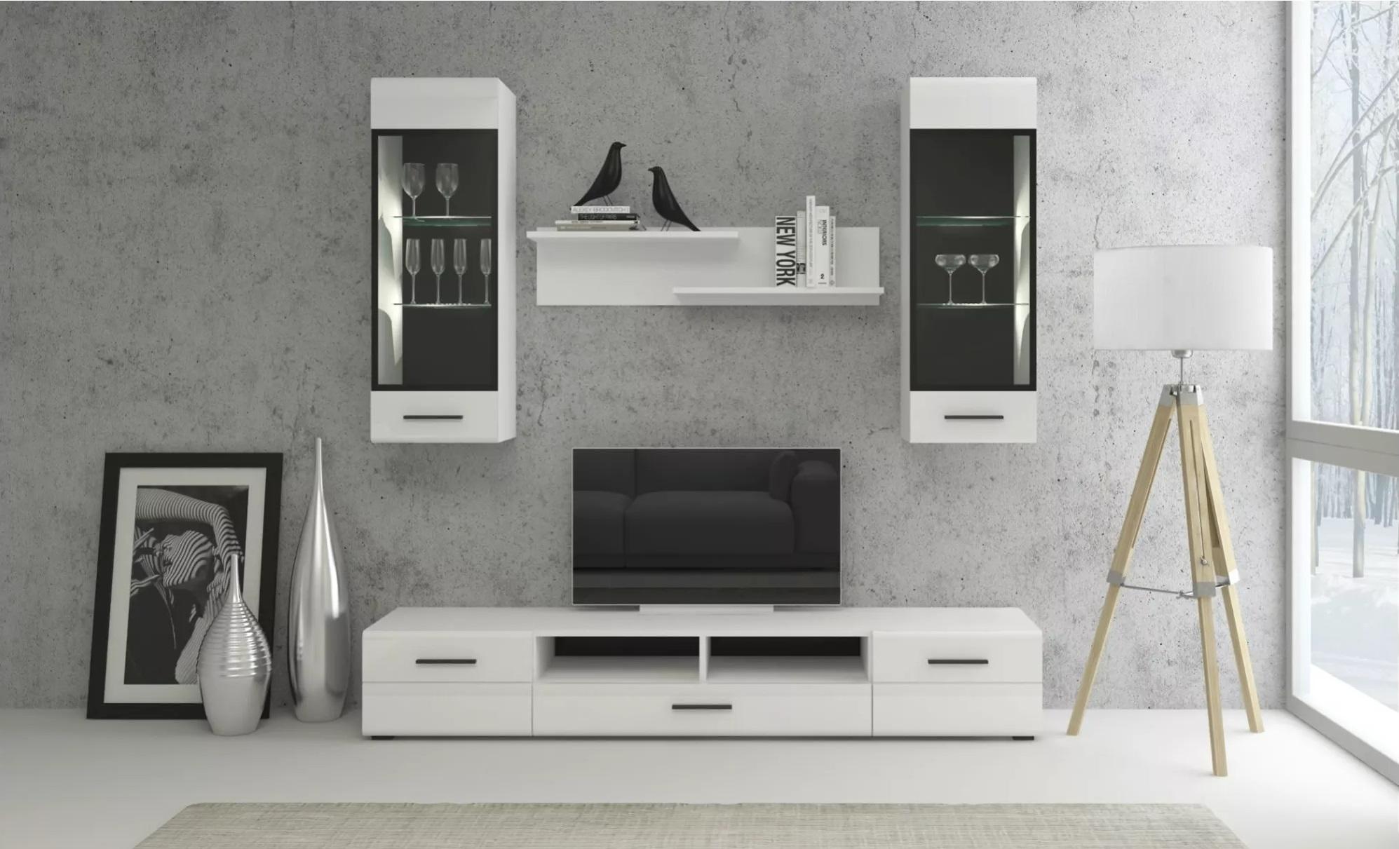 TV stolek Bianco 1