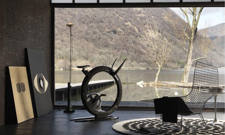 Bicykel aj ako dekorácia. Zdroj: Ciclotte